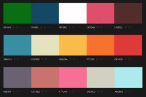 photo des differentes couleurs d'un liseret de jante moto