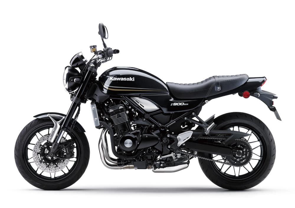 photo d'une moto prete a etre zquipée de liserets de jante